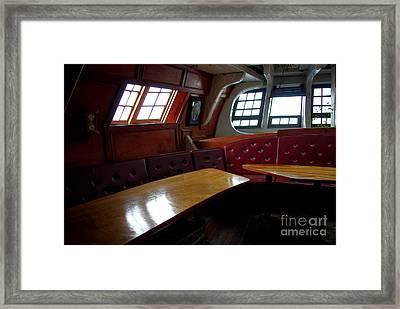 Hms Bounty Twenty Five Cents For The Captain Aka Captains Quarters Framed Print