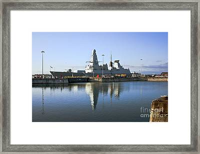 Hms Dauntless Framed Print