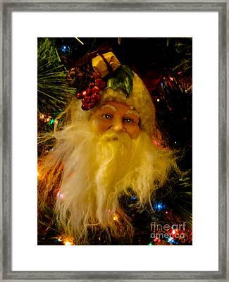 Ho Ho Ho Merry Christmas Framed Print by Al Bourassa