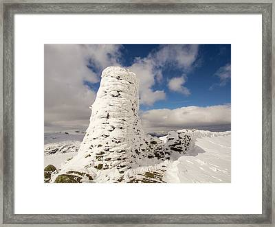 Hoare Frost Framed Print by Ashley Cooper