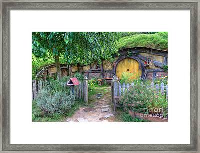 Hobbit Hole 2 Framed Print