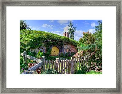 Hobbit Hole 7a Framed Print