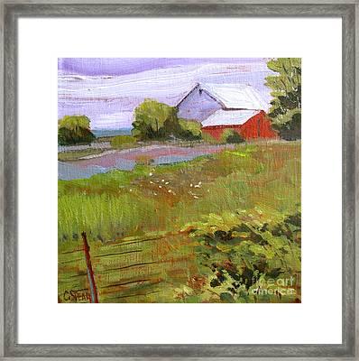 Hobbs Farm Framed Print