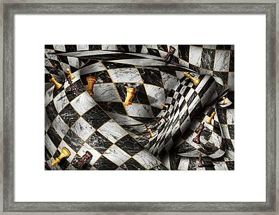 Hobby - Chess - Your Move Framed Print