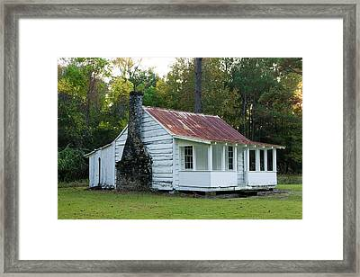 Hobcaw Cabin Framed Print by Sandra Anderson
