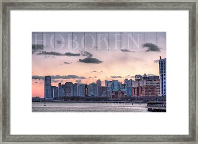 Hoboken  Framed Print by JC Findley