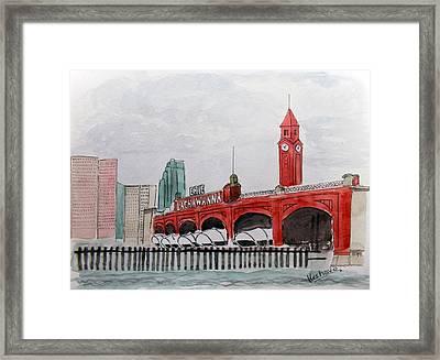 Hoboken Framed Print