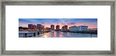 Hoboken New Jersey Framed Print