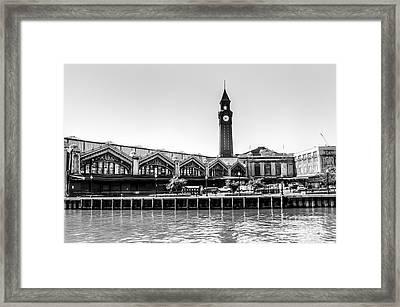 Hoboken Terminal Tower Framed Print
