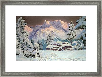 Hocheisgruppe Framed Print by Alwin Arnegger