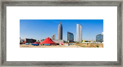 Hochhauser In The European Quarter Framed Print by Panoramic Images