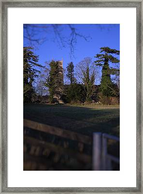 Hockering Church Framed Print by Dave Woodbridge