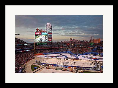Citizens Bank Park Framed Prints