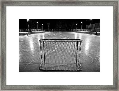 Hockey Night In Canada Framed Print