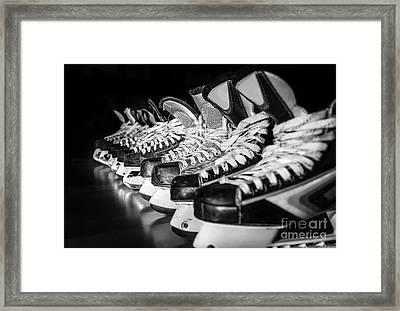 Hockey Time Framed Print
