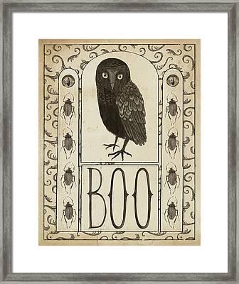 Hocus Pocus IIi Framed Print by Sara Zieve Miller