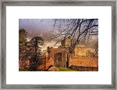 Hoddom Castle Framed Print