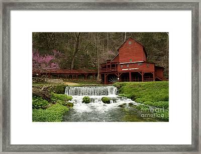 Hodgson Mill Framed Print