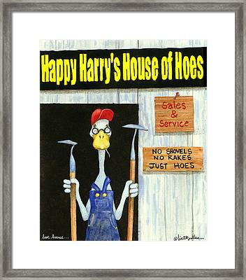 Hoe House... Framed Print by Will Bullas