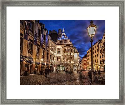 Hofbrauhaus Framed Print