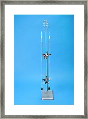 Hofmann Voltameter Framed Print by Trevor Clifford Photography