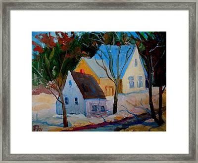 Hog Bay Relics Framed Print