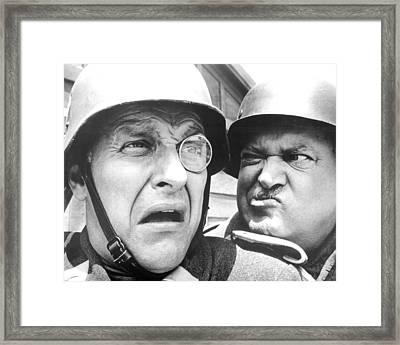 Hogan's Heroes  Framed Print by Silver Screen