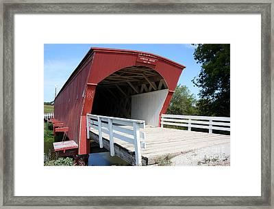 Hogback Bridge Framed Print by David Bearden