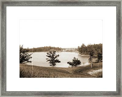 Hogsback, Lake Orion, Mich, The, Lakes & Ponds Framed Print