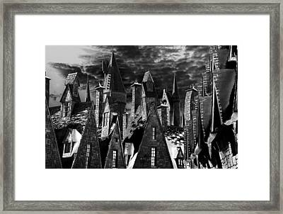 Hogsmeade Framed Print by David Lee Thompson