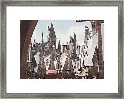 Hogsmeade Framed Print by Jessie Gould
