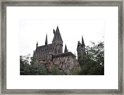 Hogwarts Bridge Framed Print by Rebecca Parker