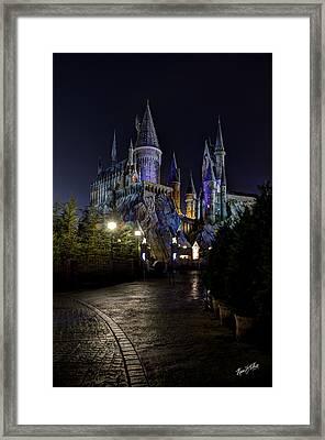 Hogwarts Castle Framed Print by Kevin  Ellis