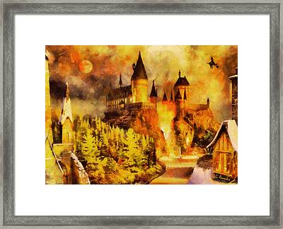 Hogwarts College Framed Print by George Rossidis