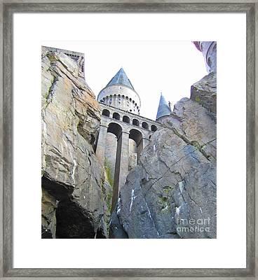 Hogwarts Framed Print by Crystal Loppie