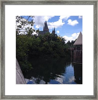 Hogwarts Framed Print by Dominique Molee