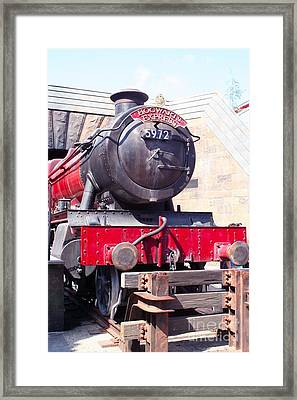 Hogwarts Express Color Framed Print