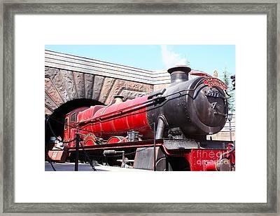 Hogwarts Express In Color 1 Framed Print