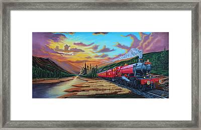 Hogwarts Express Framed Print by Robert Steen