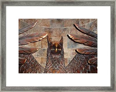 Hogwarts Hippogriff Guardian Framed Print by David Nicholls