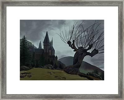 Hogwarts II Framed Print by Saskia Ahlbrecht