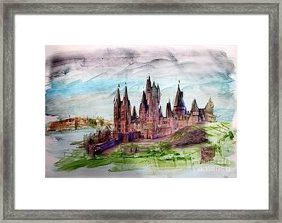 Hogwarts Framed Print by Roger Lighterness