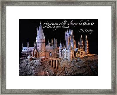 Hogwarts Framed Print by Tanis Crooks