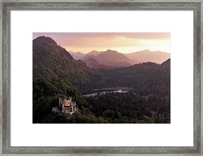 Hohenschwangau Castle Framed Print by Francesco Emanuele Carucci