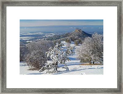 Framed Print featuring the photograph Hohenzollern Castle 2 by Rudi Prott