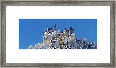 Framed Print featuring the photograph Hohenzollern Castle Germany by Rudi Prott