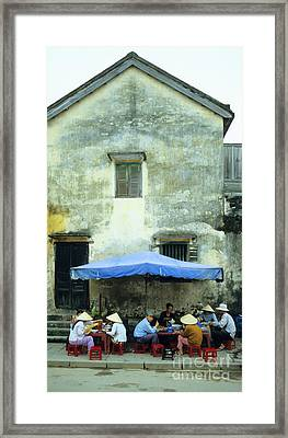 Hoi An Noodle Stall 01 Framed Print by Rick Piper Photography