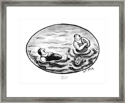 Hoiman! I ?oat! Framed Print by William Steig
