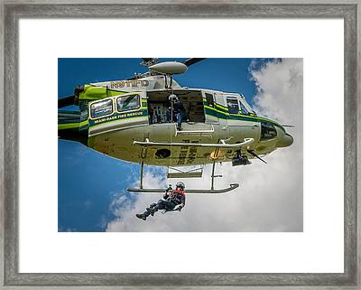 Hoist Framed Print by Scott Mullin