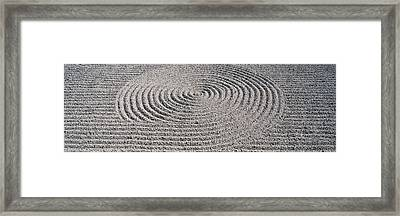 Hojo Garden Tofuku Temple Kyoto Japan Framed Print by Panoramic Images